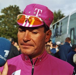 Erik Zabel - Erik Zabel in Paris–Tours 2002