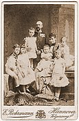 Ernest Augustus, Crown Prince of Hanover and Princess Thyra of Denmark with family.jpg