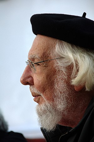 English: Ernesto Cardenal read his poems in La...