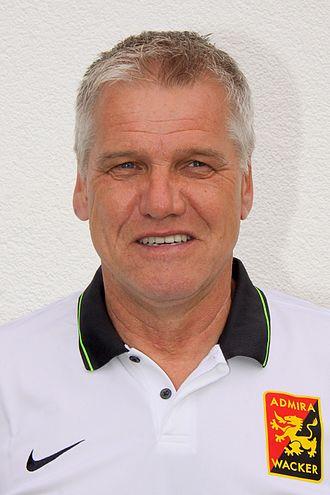 Ernst Baumeister - Image: Ernst Baumeister, FC Admira Wacker Mödling 2015 2016 (01)