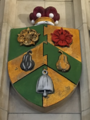 Escutcheon of Lord Wolfson in the Wills Memorial Building.png