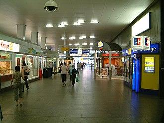 Essen Hauptbahnhof - Entrance hall in 2007