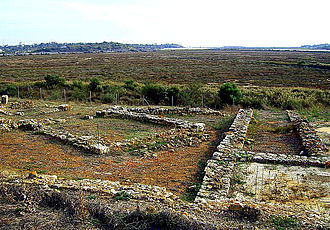 Roman ruins of Quinta da Abicada - Estação romana da Quinta da Abicada
