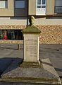 Estatua Francisco Acal Eiros, O Cádavo, Baleira, Lugo 15.JPG