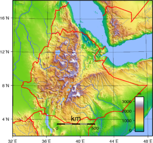 Geography of Ethiopia Wikipedia