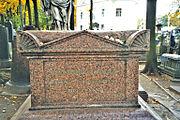 Euler's grave at the Alexander Nevsky Lavra.