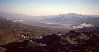 Eureka Valley (Inyo County) - Eureka Valley, California, and the Eureka Sand Dunes