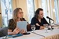 European Voices A Reading & Conversation with Christos Ikonomou and Karen Emmerich (26293109740).jpg