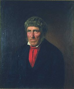 none  Even Thorsen måla av Christian Olsen i 1855.