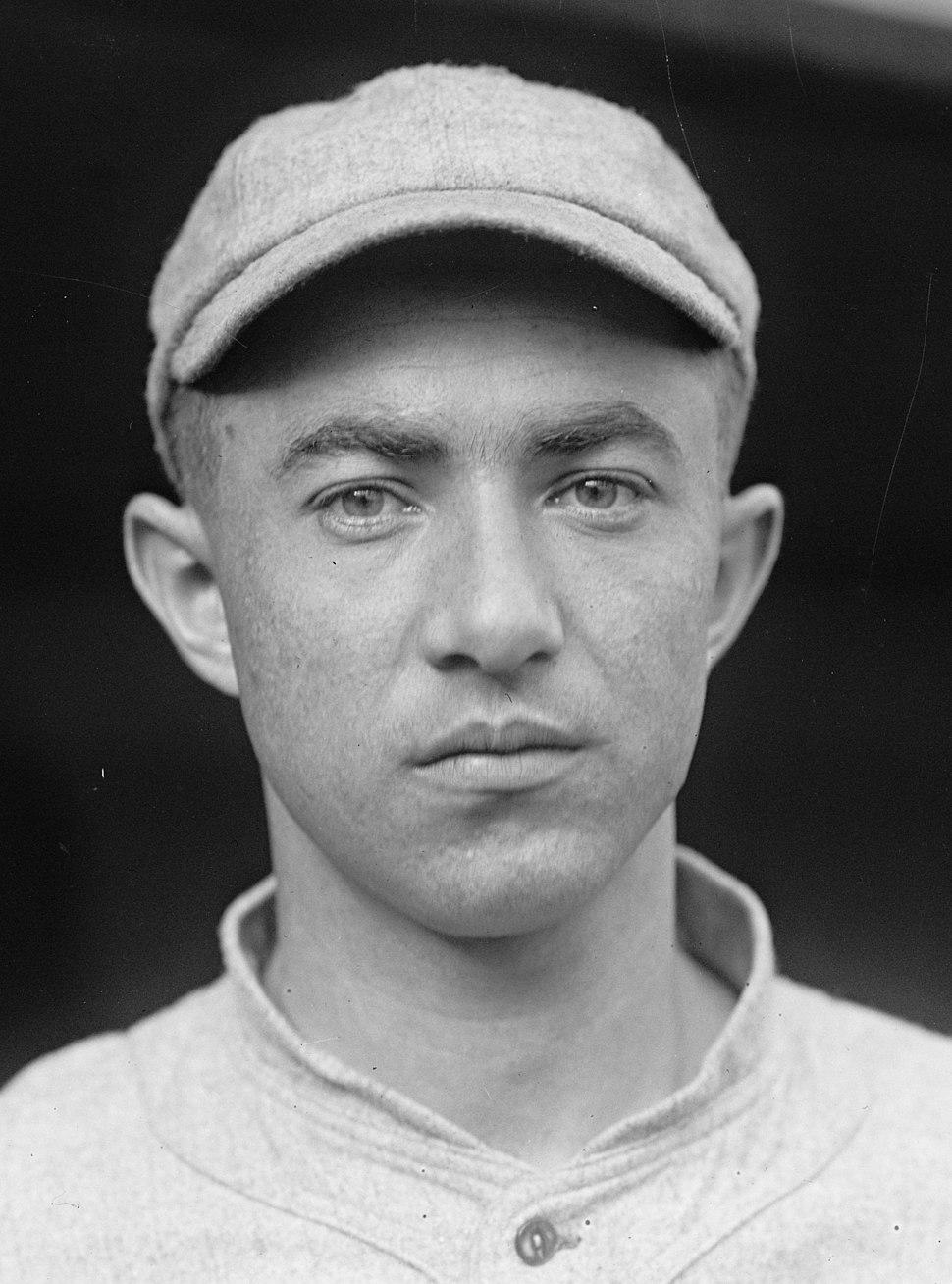 Everett Scott 1915 headshot
