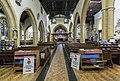 Evesham, All Saints' church interior, looking east (38328422606).jpg