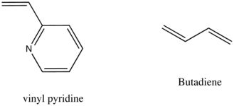 Anionic addition polymerization - Examples of vinyl monomers.