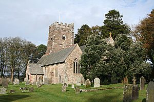 Exford, Somerset - Image: Exfordchurch