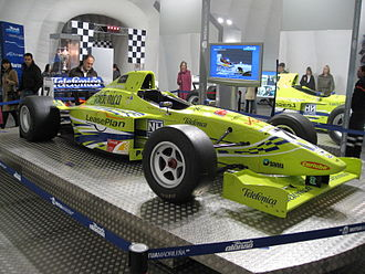 International Formula 3000 -  Fernando Alonso's Lola chassis in the 2000 season.
