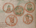 F21.v. Five planets as heads in medallions - NLW MS 735C.png