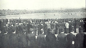 Fallowfield Stadium - During the 1893 FA Cup final