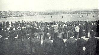 1893 FA Cup Final - The match in progress