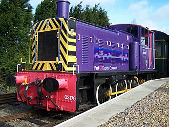 West Anglia Great Northern - Image: FCC 03179 at NVR