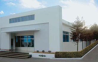 Kanggye - Image: Fabrica Procesamiento Madera Kanggye (2)