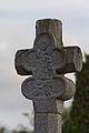 Face nord de la croix de cimetière trilobée (Pacé, Ille-et-Vilaine, France).jpg