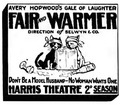 Fair and Warmer newspaper ad The Sun NYC 30July1916.tif