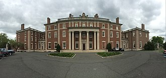 McKim, Mead & White - Fairleigh Dickinson University, Florham panorama