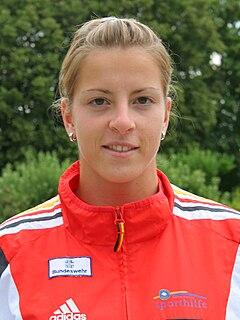 Fanny Fischer German sprint canoer