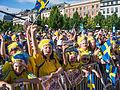 Fans for Sweden national under-21 football team in 2015-2-2.jpg