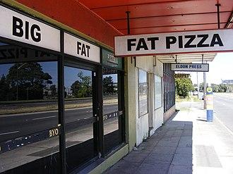 Pizza (TV series) - The Pizzeria in Sydney's Chullora