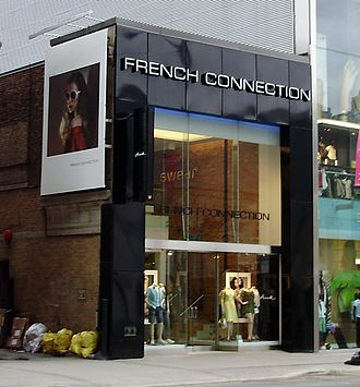 French Connection (clothing) - A French Connection store in Toronto, Ontario, Canada