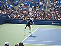Federer on Armstrong (shots and serves) (13) (7856708808).jpg