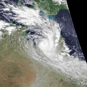 1989–90 Australian region cyclone season - Image: Felicity dec 15 1989 0508Z