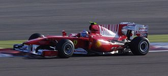 2010 Bahrain Grand Prix - Fernando Alonso won on the occasion of his first race for the Ferrari team.