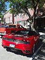 Ferrari F430 Spider Main Street downtown Montpelier VT June 2019 rear.jpg