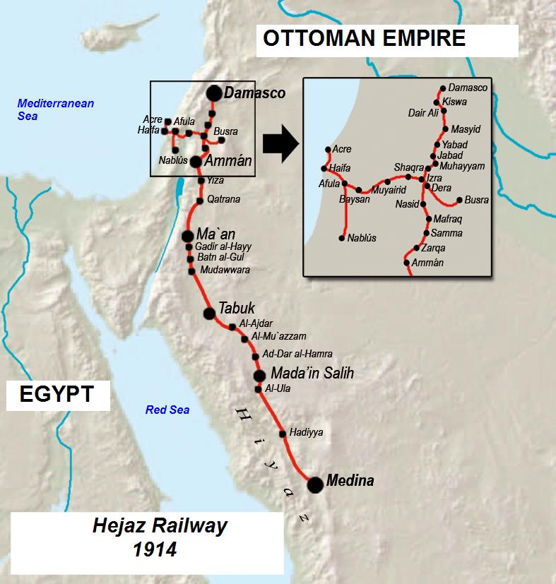 Ferrocarril del hiyaz EN