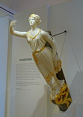 Figurehead from the ship Galatea