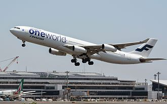 Oneworld - Finnair became Oneworld's first recruit following the alliance's foundation.