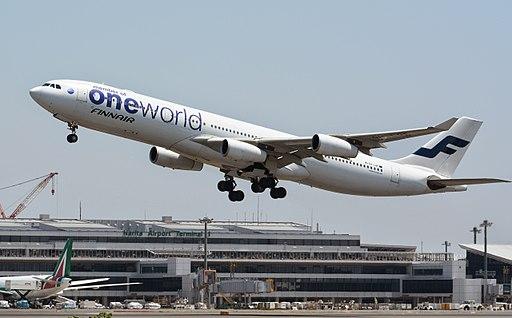 Finnair, Airbus A340-313, OH-LQE - NRT