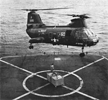 Un UH-46A Sea Knight