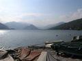 Fischerboote + Berge im Gegenlicht 2006-04-23.JPG