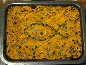 Fish pie - Image: Fish Pie with Sweet Potato Topping