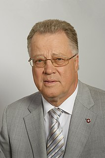Guntis Ulmanis Latvian politician