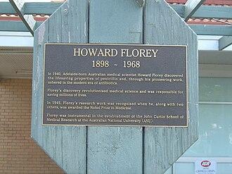 Florey, Australian Capital Territory - A plaque displayed at the Florey shops