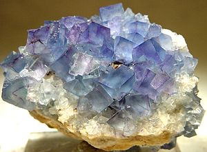 Socorro County, New Mexico - Fluorite from the Blanchard mine, near Bingham, New Mexico