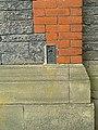 Flush bracket trig point - Braced chyfwyneb pwynt trigonometrig - geograph.org.uk - 1274889.jpg