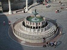 La Fontana Maggiore a Perugia