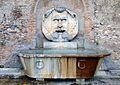 Fontana del Mascherone di Santa Sabina (Rome).jpg