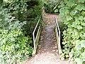 Footbridge to St Catherine, Pettaugh - geograph.org.uk - 1346671.jpg
