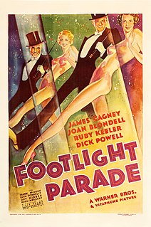 <i>Footlight Parade</i> 1933 film by Lloyd Bacon