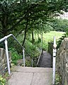Footpath - Manchester Road, Linthwaite - geograph.org.uk - 915106.jpg